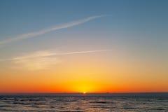 Baltic sunset. Royalty Free Stock Photo