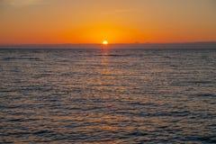 Baltic sunset. Stock Photos
