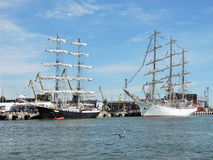 Baltic Tall Ships Regatta 2015, Lithuania Stock Photos