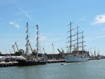 Baltic Tall Ships Regatta 2015, Lithuania Royalty Free Stock Photography