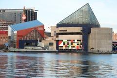 BALTIMORA, MARYLAND - 18 FEBBRAIO: Il porto interno a Baltimora, Maryland, U.S.A. il 18 febbraio 2017 Fotografia Stock Libera da Diritti