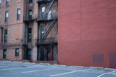 Baltimore Apartment Buildings stock photography