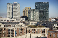 Baltimore Buildings Royalty Free Stock Photo