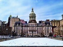 Baltimore City Hall Royalty Free Stock Photos