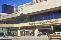 Baltimore Convention Center, Baltimore, Maryland Stock Photos