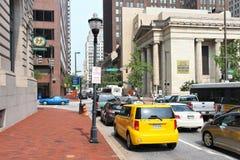 Baltimore da baixa Foto de Stock Royalty Free