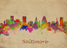 Baltimore de V.S. Royalty-vrije Stock Afbeelding