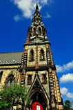 Baltimore, DM : Bâti Vernon United Methodist Church Photo stock