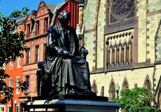 Baltimore, DM : Roger Taney Statue Photographie stock