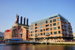 Baltimore downtown building Royalty Free Stock Photo