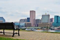 Baltimore downtown Stock Photos