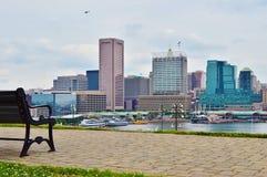 Baltimore downtown Stock Image