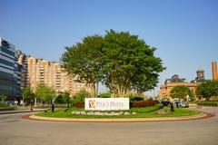 Baltimore downtown park Stock Photo