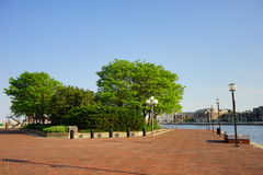 Baltimore downtown park Stock Photography