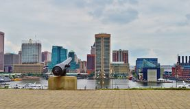 Baltimore downtown Royalty Free Stock Images
