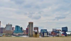 Baltimore downtown Stock Photo
