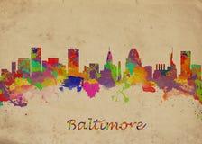 Baltimore Etats-Unis Image libre de droits