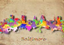 Baltimore EUA ilustração stock
