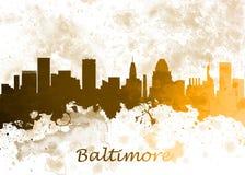 Baltimore EUA ilustração do vetor