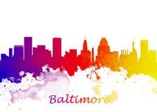 Baltimore EUA ilustração royalty free