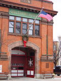 Baltimore Fire Department Engine 2. Fire house in Baltimore s historic Federal hill area stock photo