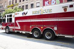 Baltimore Fire Truck Royalty Free Stock Photography