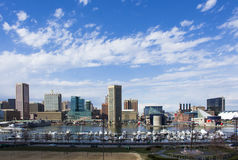 Baltimore habor Royalty Free Stock Images