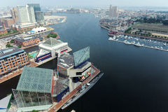 Baltimore-Hafen lizenzfreies stockfoto