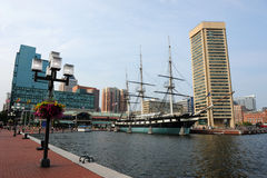 Baltimore-Hafen lizenzfreies stockbild