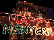 baltimore happy new year Στοκ Φωτογραφία