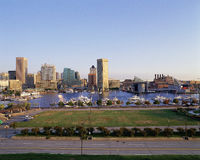 Baltimore harbor Royalty Free Stock Images