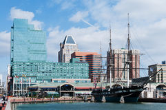 Baltimore harbor Stock Photos