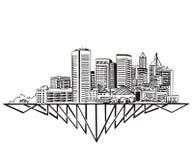 Baltimore, horizonte del MD Fotografía de archivo libre de regalías