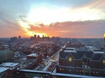 Baltimore im Stadtzentrum gelegen Lizenzfreies Stockfoto
