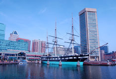 Baltimore Inner Harbor Royalty Free Stock Image