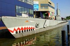 Baltimore inner Harbor aquarium Stock Photography