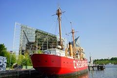Baltimore inner Harbor boat Stock Photos