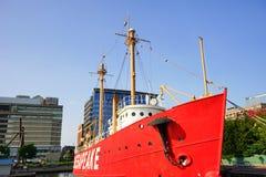Baltimore inner Harbor boat Royalty Free Stock Photos