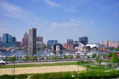 Baltimore  inner Harbor docking Stock Photos