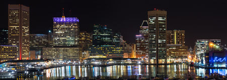 Baltimore Inner Harbor stock image