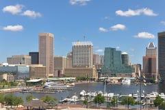 Baltimore Inner Harbor, Maryland Stock Photo
