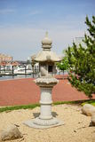 Baltimore inner harbor park. A park in Baltimore inner Harbor scenic area and downtown royalty free stock images