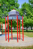 Baltimore inner harbor park Stock Image
