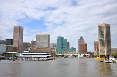 Baltimore Inner Harbor skyline Royalty Free Stock Photo