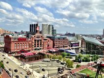 Baltimore inre hamnkraftverk Arkivfoton
