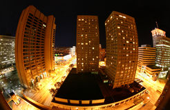 Baltimore la nuit Photographie stock