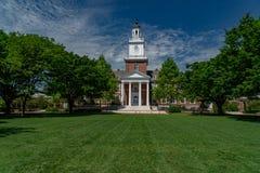 BALTIMORE, los E.E.U.U. - 21 de mayo de 2018 - universidad Baltimore de los hopkins de Juan Foto de archivo libre de regalías