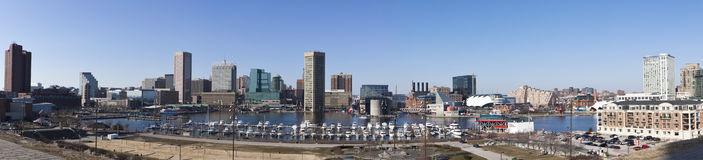 Baltimore, Maryland Royalty Free Stock Images