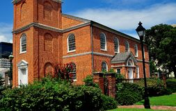 Baltimore, Maryland: 1785 alte Otterbein Kirche Stockfotos