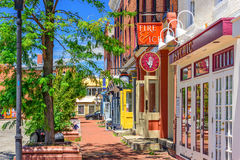 Baltimore Maryland no ponto do ` s Fell fotos de stock royalty free